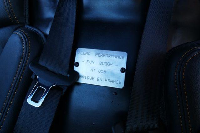SECMA FUN BUGGY 1.6L 16V 105CV plein