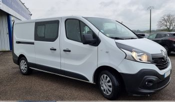 RENAULT – TRAFIC III FG – L2H1 1200 1.6 DCI 125CH ENERGY CABINE APPROFONDIE GRAND CONFORT EURO6 – 19990 Euros complet